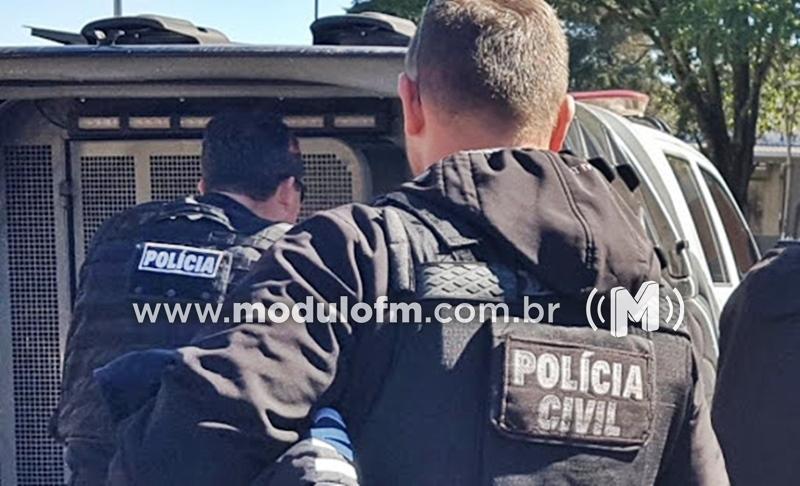 Operação Narco Brasil da Polícia Civil prende três homens em Patrocínio