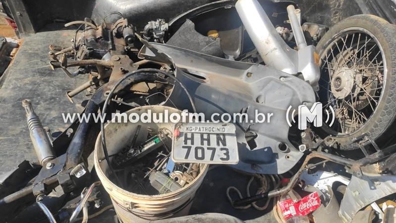 PM apreende menor com veículo produto furto e com arma de pressão modificada