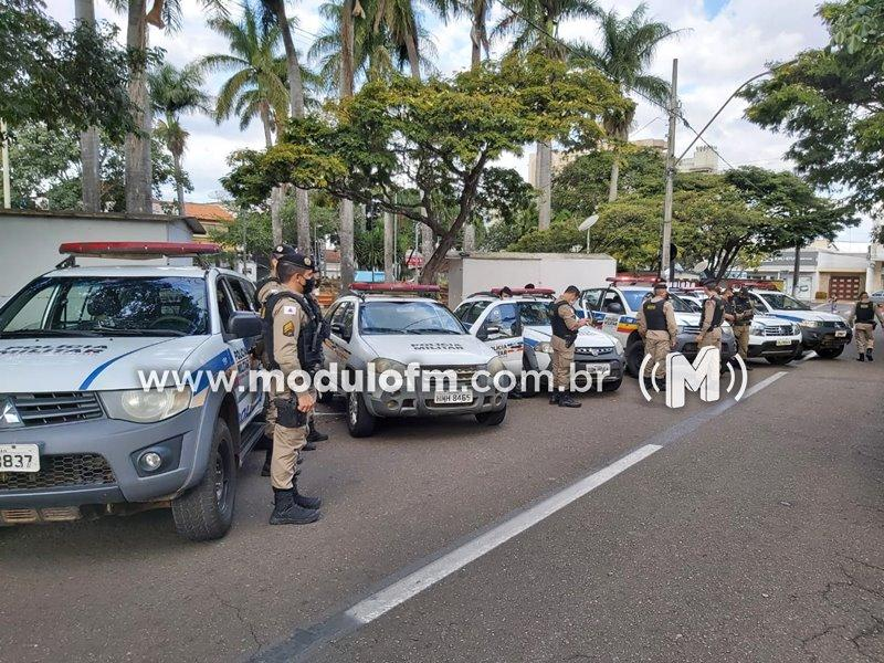 """Polícia Militar lançou a """"Mega Operação Alferes"""