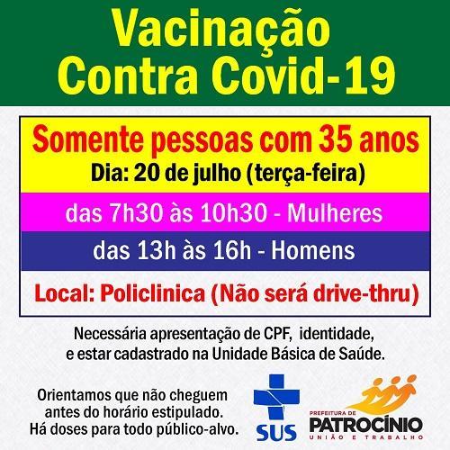 A semana de imunização contra a COVID-19 segue em...