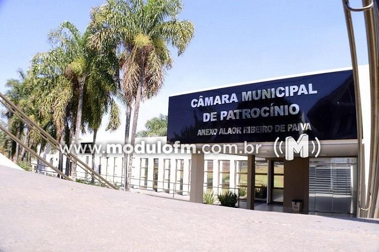 Câmara Municipal de Patrocínio entra em recesso parlamentar de...