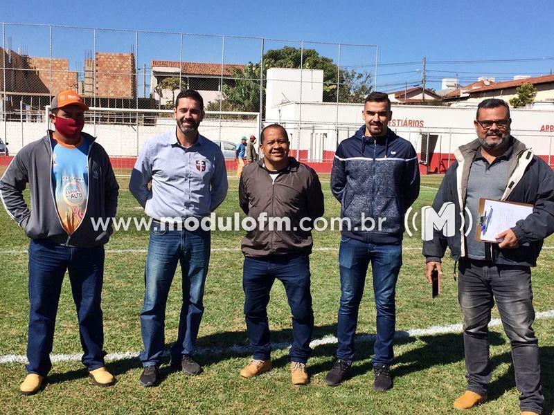 Com algumas adequações, Estádio Júlio Aguiar está liberado para os jogos da segunda divisão do mineiro