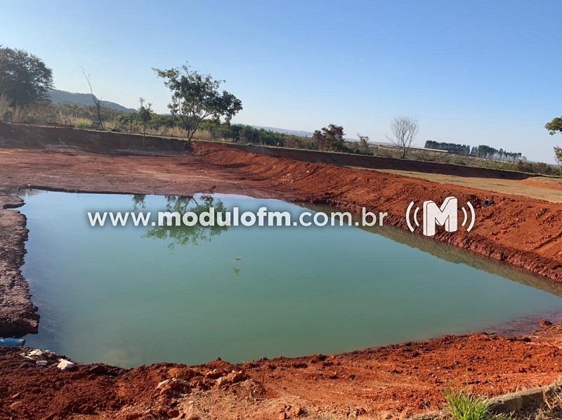 Governo Municipal realiza obras para a instalação de represa no Espaço Cultural