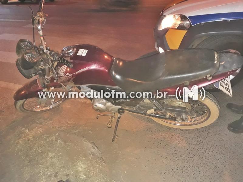 Homem é preso com motocicleta clonada na MGC-462