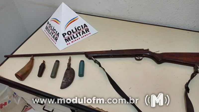 Homem é preso por porte ilegal de arma de fogo em Cruzeiro da Fortaleza