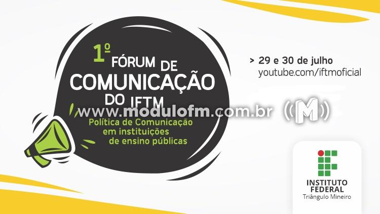 IFTM realiza 1º Fórum de Comunicação