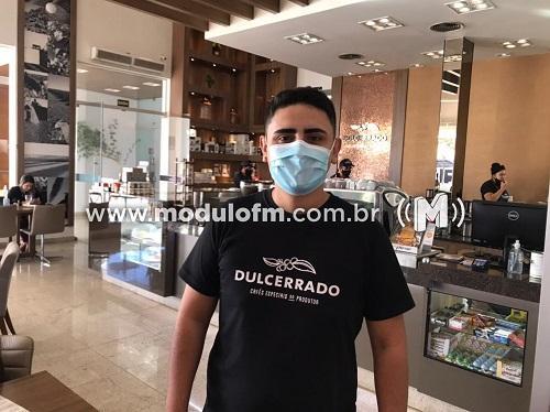 Maurício Maciel assume a Cafeteria Dulcerrado e cafeteria