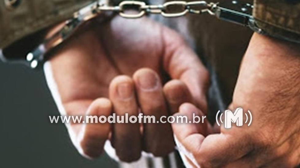 Polícia Militar prende foragido da justiça