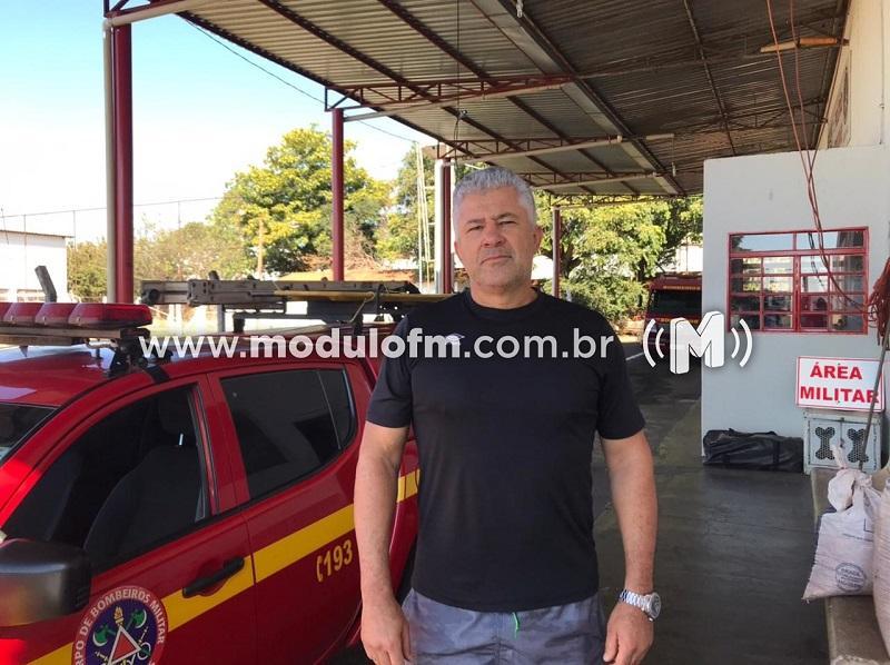 Segundo Sargento Marcio Fernandes entra para a reserva do Corpo de Bombeiros