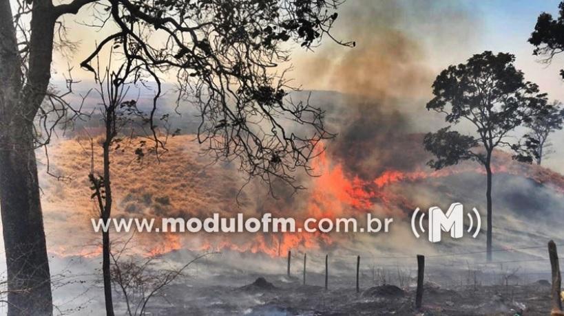 Mosaic Fertilizantes se posiciona sobre incêndio que atinge região...