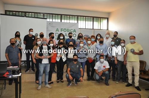 Secretarias Municipais participam de lançamento do projeto Alto Paranabike