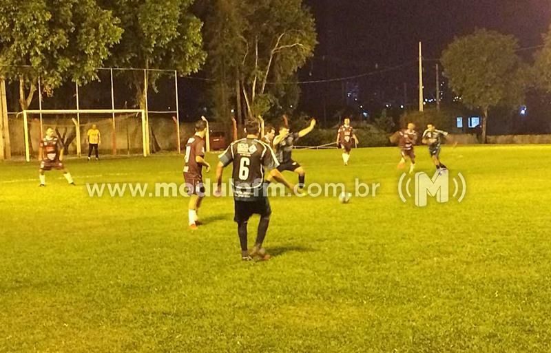 Encerrada a primeira rodada do campeonato Municipal de Futebol Master