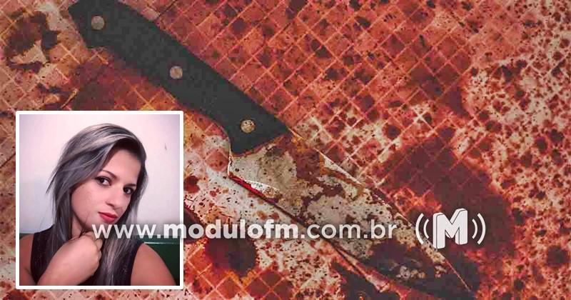 Feminicídio: Mulher é morta a facadas na frente das filhas em Monte Carmelo