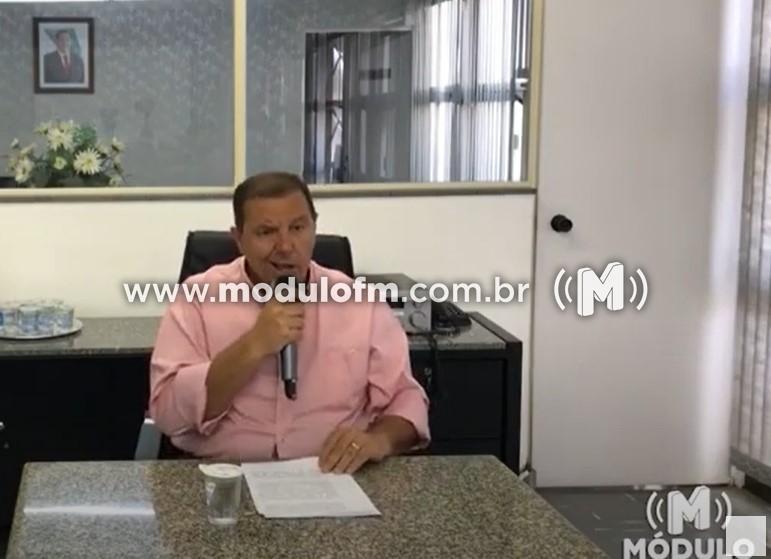 Prefeito Deiró Moreira Marra é absolvido no processo de cassação de mandato mas e condenado a pagar 50 salários-mínimos.