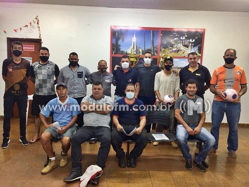 Reunião definiu Campeonato Municipal de Futebol Máster